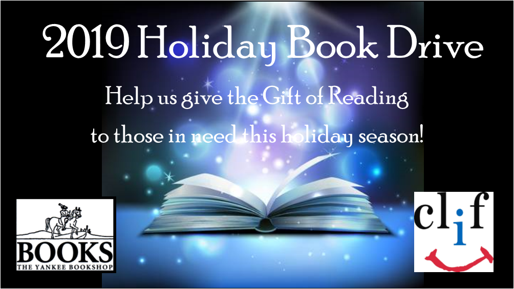 2019 Holiday Book Drive with Yankee Bookshop and the Children's Literacy Foundation